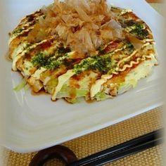 【最優秀レシピ賞】レンジで簡単♪粉なし!豆腐入りお好み焼き