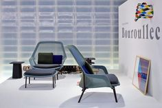 slow chair vitra blue/green - Google Search