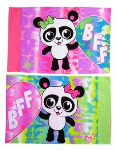 Panda BFF Pillowcases