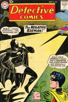 Cover for Detective Comics (1937 series) #284