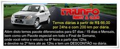 Locação de veículos à partir de R$ 66,00 - Portal Colina Vila São Francisco, Site da Vila São Francisco, Portal da Vila São Francisco e Zona Oeste