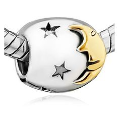 Moon and Star Charms Sale Cheap Jewelry Beads Fit Pandora Bracelets * Continue to the product at the image link. (This is an affiliate link) Pandora Beads, Pandora Bracelet Charms, Charm Bracelets, Pandora Jewelry, Girls Jewelry, Cheap Jewelry, Pandora Compatible Charms, Gifts For My Wife, Moon Charm