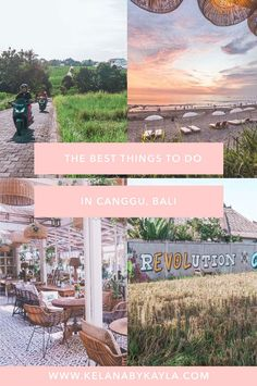 Best things to do in Canggu, Bali - Kelana by Kayla Stuff To Do, Things To Do, Bali Travel, Wanderlust Travel, Canggu Bali, Travel Tips, Travel Goals, Travel Articles, Travel Guides