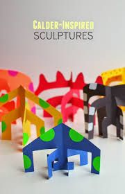 Image result for geometric sculptures by children