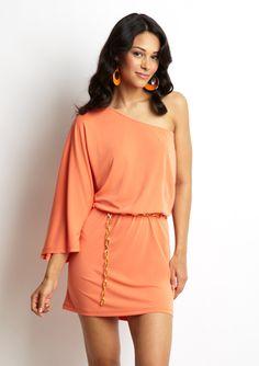 DREW Fifi One-Shoulder Dress