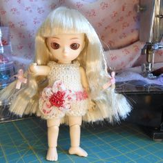 Jun Planning AI doll Romper by SSmartRaggs on Etsy, $18.00