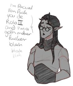 """@fl0werb0ws: """"Vax stealing Percy's glasses and being an asshole is my fave thing"""" (1/2)"""
