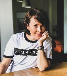 Alice Botnarenco, Founder of ALISIA ENCO brand Alice, Bring It On, T Shirt, Tops, Women, Fashion, Tee, Moda, Women's