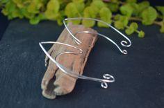 Simple Elf Ear Cuffs Silver Cuffs Elven Ear by TheIvyBeeHandmade