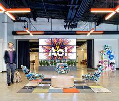 Escritório da AOL na Califórnia