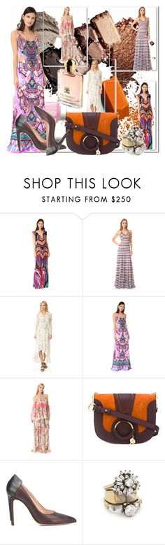 """""""An Awe with Maxi Dress!!"""" by stylediva20 on Polyvore featuring Roberto Cavalli, Dsquared2, Ministry of Style, See by Chloé, Maison Margiela and Iosselliani"""