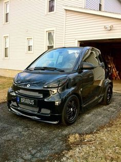 Smart by Brabus who would buy it....