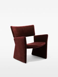 Image result for crown easy chair red