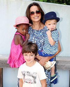 Mariska Hargitay Three Kids