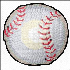 Cross Stitch | Baseball xstitch Chart | Design