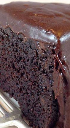 Famous Brick Street Chocolate Cake {wineglasswriter.com/}