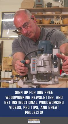 You're Invited! You've been invited to get instructional Woodworking videos, projects, and expert tips - Woodworking Projects That Sell, Woodworking Skills, Popular Woodworking, Woodworking Techniques, Woodworking Videos, Woodworking Furniture, Diy Wood Projects, Woodworking Shop, Woodworking Crafts