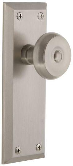 Poignée de porte Porcelaine trou de clé INSPIRE, porcelaine de