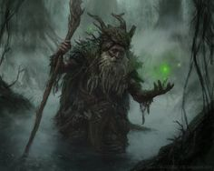 """""""Ragadast the brown"""" - That was the caption when I found this. Sorry original poster its Radagast"""