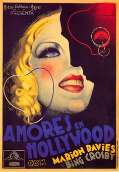 Spanish Movie Poster by Josep Morell Macías (1899-1949), ca. 1933, Amores en…