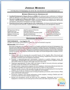Human resources assistant resume hr example sample for Dispute resolution policy template