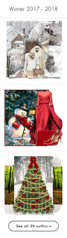 """""""Winter 2017 - 2018"""" by alidishu ❤ liked on Polyvore featuring Toast, Burberry, Yves Salomon, Witchery, Christian Dior, Georges Hobeika, MANGO, Salvatore Ferragamo, art and home"""