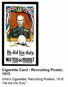 Will Cigarettes - Recruiting Posters of he did his duty, will you do yours Nice Body, Back In The Day, Liverpool, Posters, Baseball Cards, Beautiful Body, Postres, Banners, Billboard