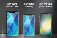 Three all-screen iPhone X models reportedly to be launched next year