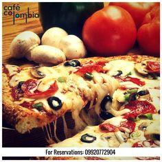 Quattro Formaggi Pizza  | Cafe Colombia | Pune