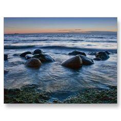 Sunset Sea Post Cards