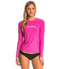 O'Neill Women's Basic Skins Long Sleeve Surf Tee
