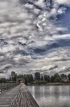 Lake Vistonida in Porto Lagos, Xanthi, Thrace, Greece | by Polis Poliviou