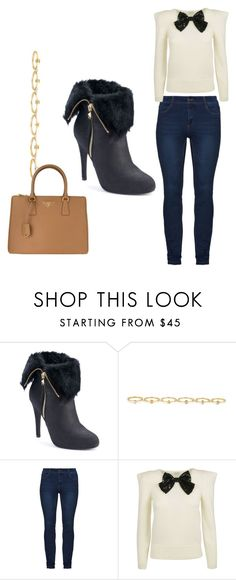 """Untitled #103"" by denise-ealy on Polyvore featuring Jennifer Lopez, Maria Francesca Pepe, Yves Saint Laurent and Prada"