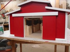 toy horse stable | Toy Horse barn - by Richie42 @ LumberJocks.com ~ woodworking community