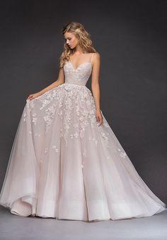 Hayley Paige 6814-Arden Ball Gown Wedding Dress