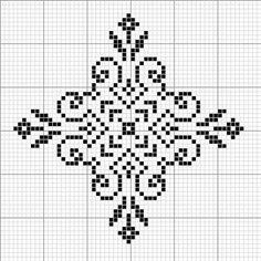 SNOWFLAKE PATTERN - cross stitch (no other info)