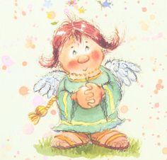 Little Devils - Bildergalerie - Lisi Martin Fanportal Devil, Drawings, Illustration, Artwork, Artist, Anime, Cards, Fictional Characters, Angeles