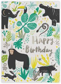 Jungle Birthday - Paperless Post