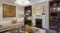 Devonshire Place Living Room - Photographed by Ray Main