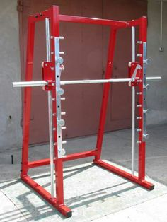 Commercial Fitness Equipment, Home Workout Equipment, Gym Instruments, Diy Power Rack, Gym Workouts, At Home Workouts, Dream Gym, Diy Home Gym, Gym Decor