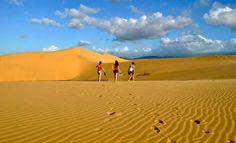 Lugares para vacacionar desierto
