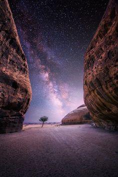Desert near The Oasis City of Al-Ula, Saudi Arabia By Nasser Al Othman