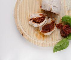Pavo relleno de pesto rojo, receta paleo, whole30