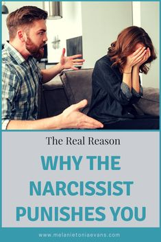 What is the REAL reason a narcissist punishes you?  Find out by clicking 'visit' and stop the abuse once and for all.  There is another life away from abuse waiting for you and I can help you get there.  #narcissists #abuserecovery #healingfromabuse #npd #ptsd