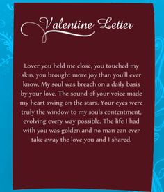 Valentine Letters Will Be Best Valentine Gift For Your Sweetheart. Your Love  Letters On Valentineu0027s Day Should Reflect Your True Feelings And Your Love  For ...