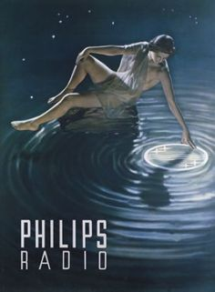 A vintage ad for Philips Radio | Repinned from @downing10