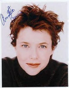 Annette Bening. Playing Maria.