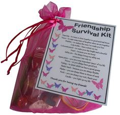 Friendship/ Best Friend / BFF Survival Kit Gift (Great present for Birthday or…