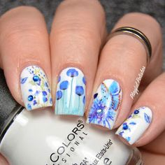Floral Butterfly Water Decals