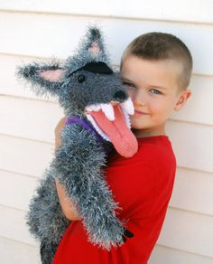 Wolf Knitting Pattern : 1000+ images about Wolves on Pinterest Plush pattern, Big bad wolf and Free...